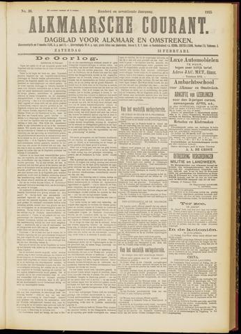 Alkmaarsche Courant 1915-02-13