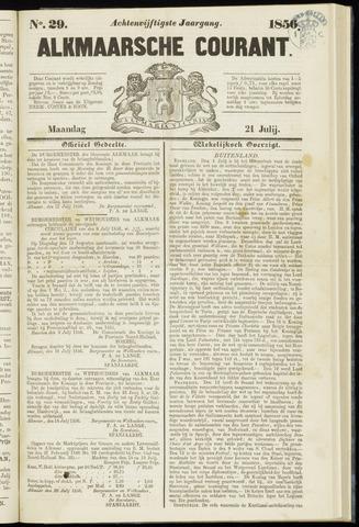 Alkmaarsche Courant 1856-07-21