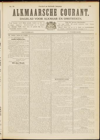 Alkmaarsche Courant 1911-02-04