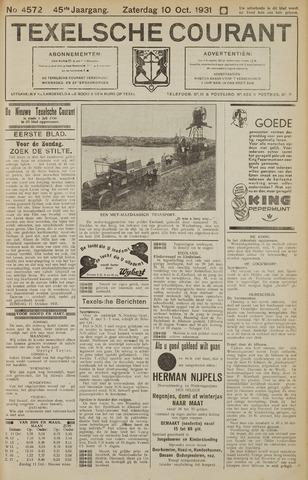 Texelsche Courant 1931-10-10