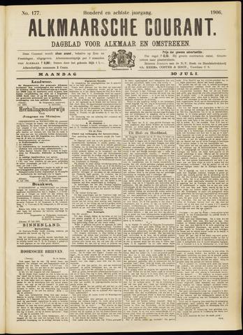 Alkmaarsche Courant 1906-07-30