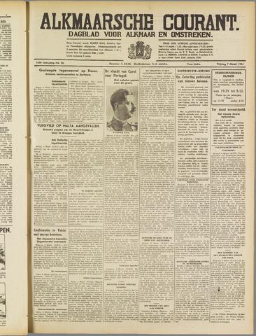Alkmaarsche Courant 1941-03-07