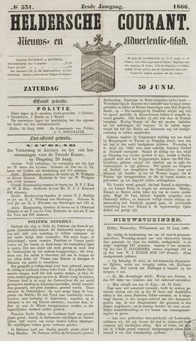 Heldersche Courant 1866-06-30
