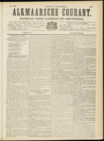 Alkmaarsche Courant 1908-10-16