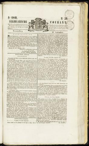 Alkmaarsche Courant 1841-09-27