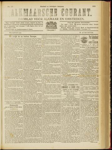 Alkmaarsche Courant 1918-08-21