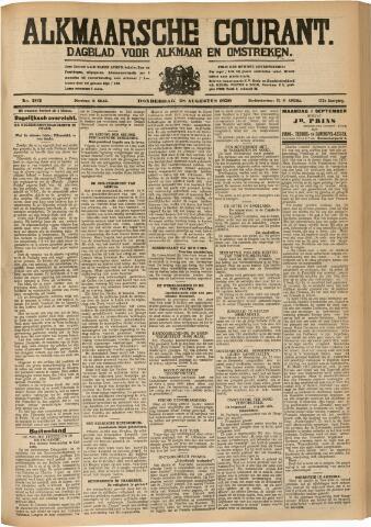 Alkmaarsche Courant 1930-08-28