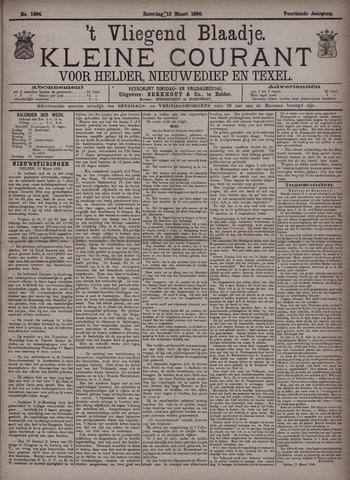 Vliegend blaadje : nieuws- en advertentiebode voor Den Helder 1886-03-13