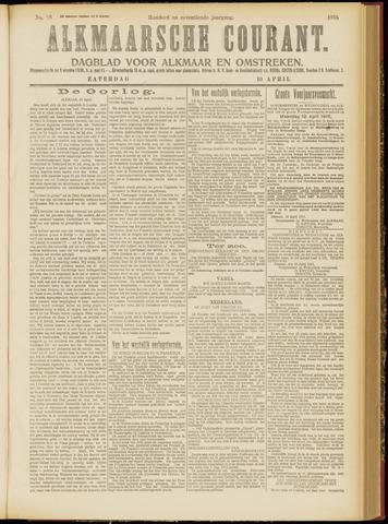 Alkmaarsche Courant 1915-04-10