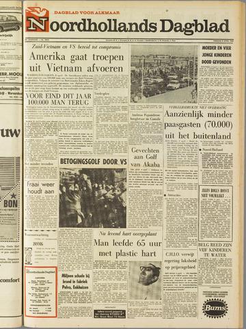 Noordhollands Dagblad : dagblad voor Alkmaar en omgeving 1969-04-08