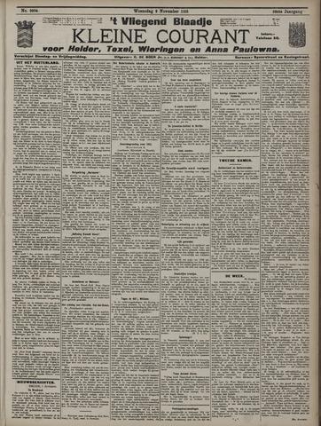 Vliegend blaadje : nieuws- en advertentiebode voor Den Helder 1910-11-02