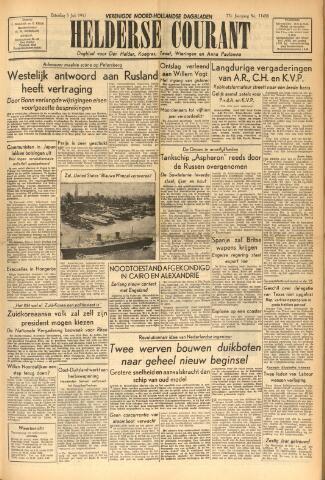 Heldersche Courant 1952-07-05
