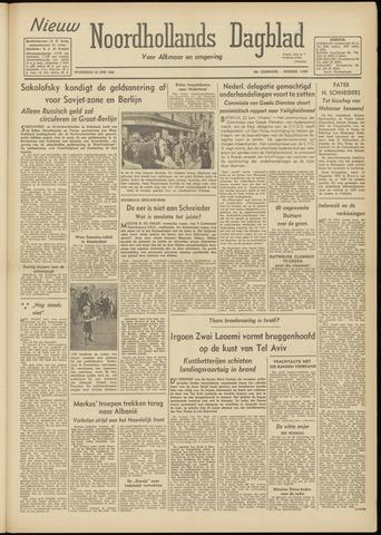 Nieuw Noordhollandsch Dagblad : voor Alkmaar en omgeving 1948-06-23