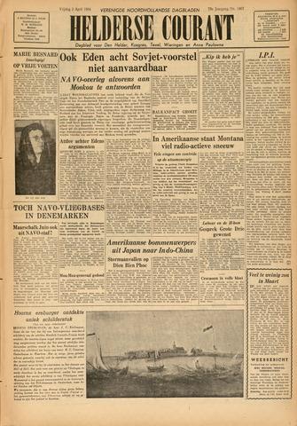 Heldersche Courant 1954-04-02