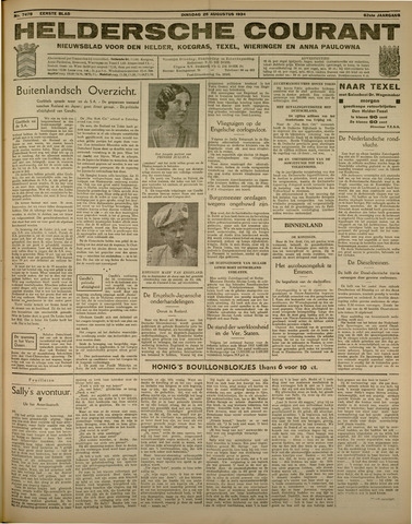 Heldersche Courant 1934-08-28