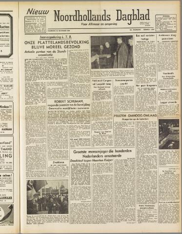Nieuw Noordhollandsch Dagblad : voor Alkmaar en omgeving 1947-11-24