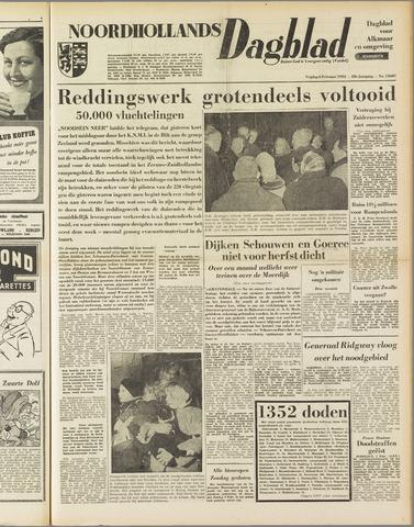 Noordhollands Dagblad : dagblad voor Alkmaar en omgeving 1953-02-06