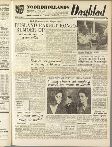 Noordhollands Dagblad : dagblad voor Alkmaar en omgeving 1960-08-22