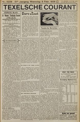 Texelsche Courant 1938-02-09