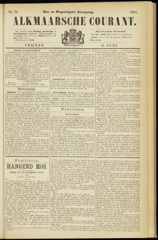 Alkmaarsche Courant 1894-06-15