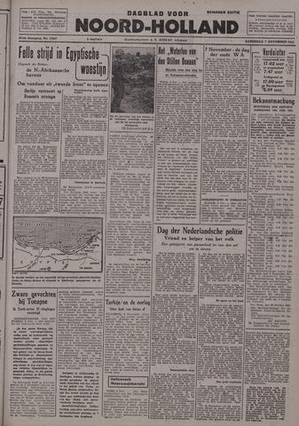 Dagblad Noord-Holland, Schager editie 1942-11-07