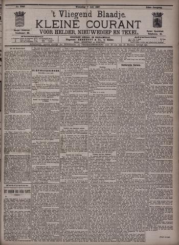 Vliegend blaadje : nieuws- en advertentiebode voor Den Helder 1897-07-07