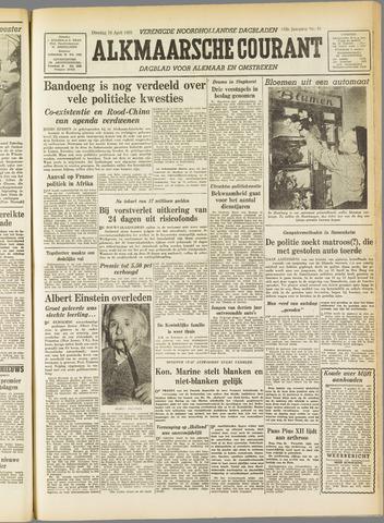 Alkmaarsche Courant 1955-04-19