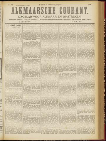 Alkmaarsche Courant 1916-03-11