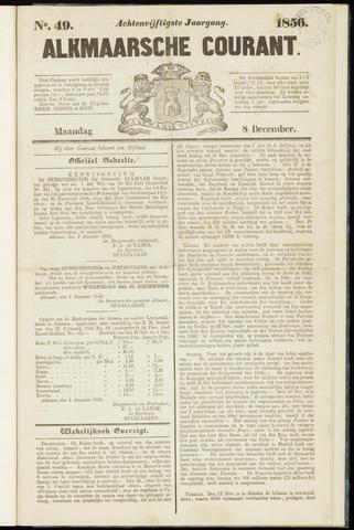 Alkmaarsche Courant 1856-12-08