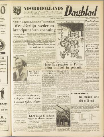 Noordhollands Dagblad : dagblad voor Alkmaar en omgeving 1959-10-31