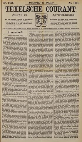 Texelsche Courant 1901-10-31