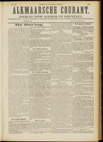 Alkmaarsche Courant 1915-08-13