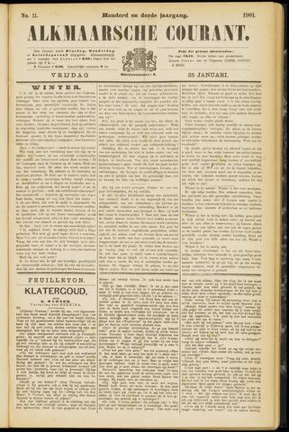 Alkmaarsche Courant 1901-01-25