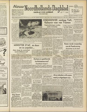 Nieuw Noordhollandsch Dagblad : voor Alkmaar en omgeving 1952-03-13