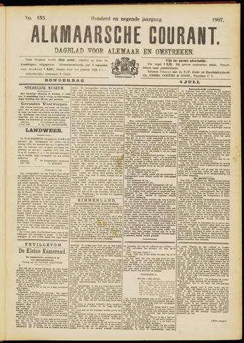 Alkmaarsche Courant 1907-07-04