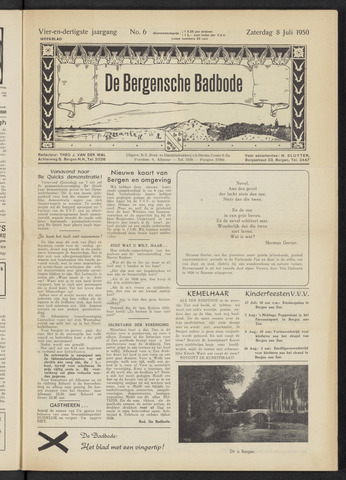 Bergensche bad-, duin- en boschbode 1950-07-08