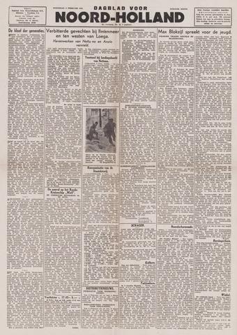 Dagblad Noord-Holland, Schager editie 1944-02-09