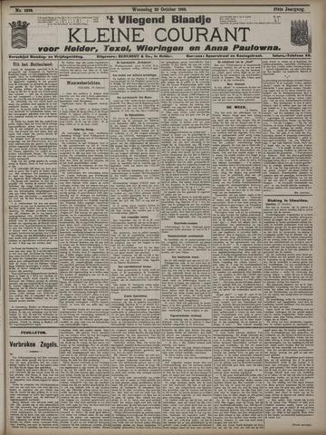 Vliegend blaadje : nieuws- en advertentiebode voor Den Helder 1909-10-20
