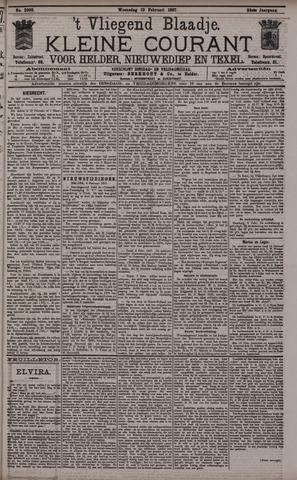 Vliegend blaadje : nieuws- en advertentiebode voor Den Helder 1897-02-10