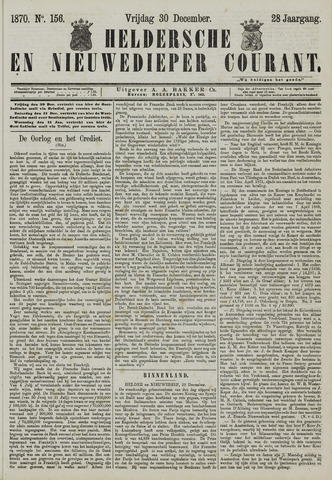 Heldersche en Nieuwedieper Courant 1870-12-30