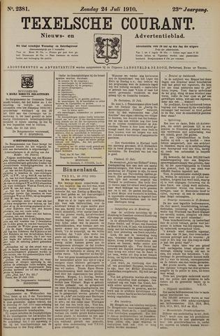 Texelsche Courant 1910-07-24