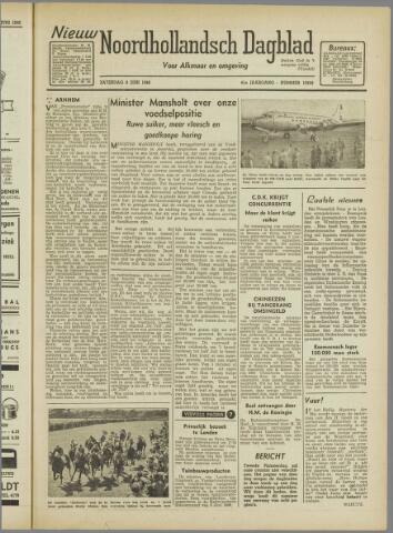 Nieuw Noordhollandsch Dagblad : voor Alkmaar en omgeving 1946-06-08