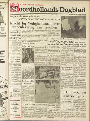 Noordhollands Dagblad : dagblad voor Alkmaar en omgeving 1964-12-08