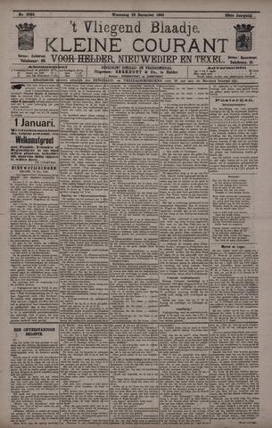 Vliegend blaadje : nieuws- en advertentiebode voor Den Helder 1895-12-25