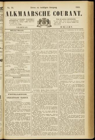 Alkmaarsche Courant 1885-03-20