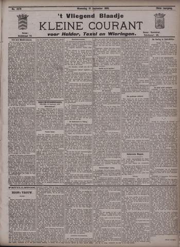 Vliegend blaadje : nieuws- en advertentiebode voor Den Helder 1900-09-19