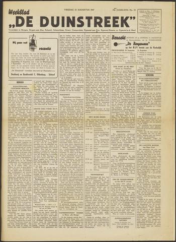 De Duinstreek 1947-08-22