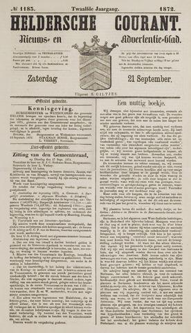 Heldersche Courant 1872-09-21