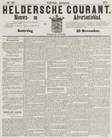 Heldersche Courant 1875-11-20