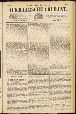 Alkmaarsche Courant 1898-06-15